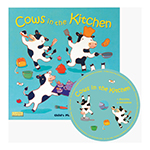 COWS IN THE KITCHEN WITH ALLOW 4-5 DAYS SHIPPING