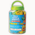 WORD BUILDING DOMINOES ALLOW 4-5 DAYS SHIPPING