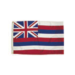 3X5 NYLON HAWAII FLAG HEA ALLOW 4-5 DAYS SHIPPING