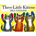 THE THREE LITTLE KITTENS ALLOW 4-5 DAYS SHIPPING