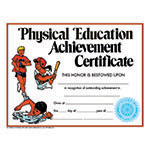 CERTIFICATE PHYSICAL EDUC ALLOW 4-5 DAYS SHIPPING