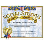 CERTIFICATES SOCIAL STUDI ALLOW 4-5 DAYS SHIPPING