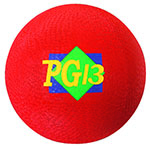 PLAYGROUND BALL RED 13 IN ALLOW 4-5 DAYS SHIPPING