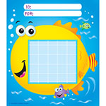 INCENTIVE CHART PAD FISH ALLOW 4-5 DAYS SHIPPING